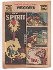 THE SPIRIT  COMIC BOOK SECTION  JAN 3, 1943  LADY LUCK  PHILADELPHIA RECORD