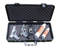 SRC RIFLE GUN Hard Case Black for Hunting/Airsoft Durable with Soft Foam Padding