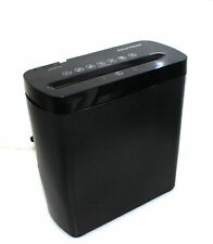 Gear head Home Office Cross-Cut Paper Credit Card Shredder PS600CX 6 per Pass