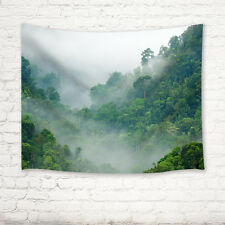 Rainforest Tapestry Wall Hanging for Living Room Bedroom Dorm Decor