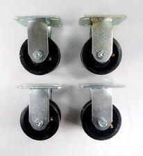 4 X 2 V Groove Caster Rigid 4ea