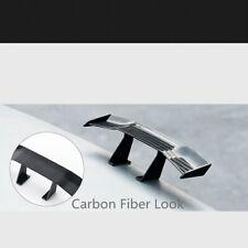 "6.7"" Universal Mini Spoiler Auto Car Tail Decoration Spoiler Wing  Carbon Fiber"