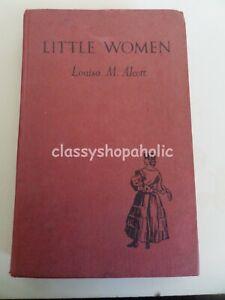 Vintage Little Women HB Book by Louisa M. Alcott - Blackie & Son Ltd