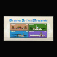 Singapore, Sc #303, MNH, 1978, S/S, National Monuments, CA106F