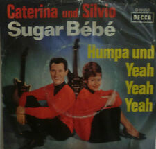 "7"" 1964 RARE ! CATERINA VALENTE & SILVIO FRANCESCO : Sugar Bebe"