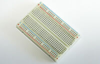 Solderless Prototype Breadboard 400 or 830 Tie Points + optional 65 Jumper Wires