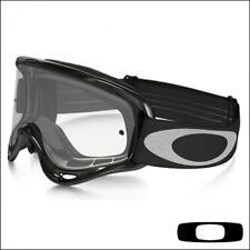 99667d0377 Adult Oakley O Frame Tear off Goggles Motocross Enduro Jet Black Clear Lens