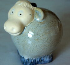 POTTERY SHEEP ORNAMENT