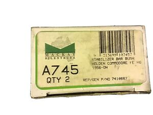 Mackay A745 Stabilizer Bar  Bushes To Suit Holden FE-HG 1956-on NOS