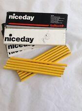 Box 12 Guilbert Wax Pencils - Yellow - Colouring Pencils
