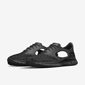Nike Free Inneva Womens Trainers Shoes UK 4 4.5 EUR 37.5 38 Black