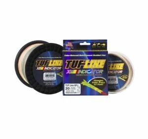 TUF-Line XP Indicator 50 lb Test 300 yards Red Yellow Green Braid Fishing Line