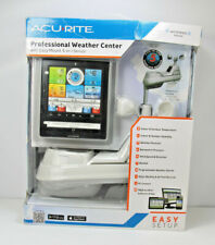 Acurite Professional Weather Center with 5 in 1 Sensor Forcast, PC Connect, App