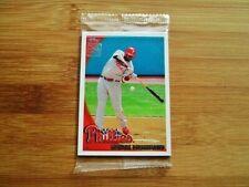 2010 Topps Baseball FACTORY SEALED Bonus Card Pack - Albert Pujols
