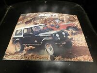 1977 AMC Jeep Sales Brochure Literature