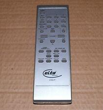 Original Fernbedienung Elta 2382iP Stereoanlage Silber