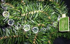 Larksilk 6 ft acrylic glass plastic crystal prism faceted tree Jewel garlands