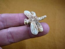 Y-Drag-550) little Tan Dragonfly dragon fly Bug carving gemstone Figurine insect