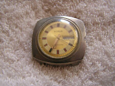 Vintage Sidros Watch Day Date
