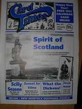CARD TIMES MAGAZINE FORMERLY CIGARETTE CARD MONTHLY No 41 JANUARY 1993