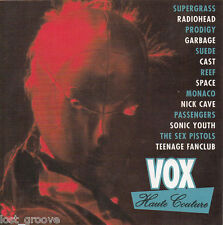 VOX Haute Couture CD 1997 MINT SEX PISTOLS RADIOHEAD NICK CAVE PRODIGY REEF RARE