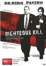 RIGHTEOUS KILL - DE NIRO & PACINO - NEW & SEALED REGION 4 DVD FREE LOCAL POST