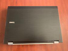 Dell Latitude E6400 4GB RAM 120GB SSD Laptop - Black