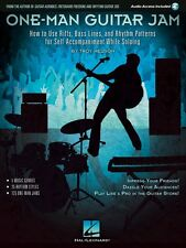 One-Man Guitar Jam - How to Use Riffs Bass Lines and Rhythm Patterns 000122026