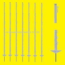 Weidezaunpfähle Steckpfahl 40 St. 150 cm weiss Pfahl 1,25€/St Weidepfahl Koppel
