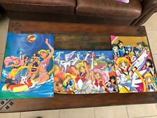 3 Sailor Moon 15� X 20 3/4� Anime Posters Lot