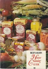 """""""Classic"""" Bernardin Home Canning Guide Vintage Canning Reference Nice Clean Copy"""