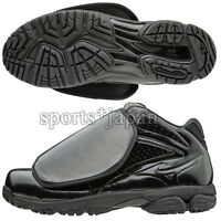 Mizuno Japan Baseball Umpire Shoes Pro Model Black 11GU1601