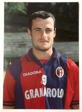 Cartolina Bologna Calcio 1997-98 Paolo Cristallini