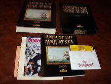 "The Ancient Art of War at Sea (IBM) 5.25"" floppy disk CIB"