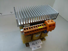 Roller + Fischer Dng 1000 Transformer Prim. 400V, 1,45A, Sec. 24VDC, 40A