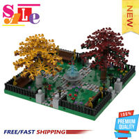MOC-36080 Modular Park #2 |4 Sides Connection Good Quality Bricks Building Block