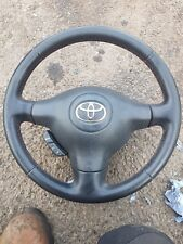 Toyota Yaris Steering Wheel With Red Stitching Complete