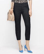Ann Taylor - Woman's Size 4 Black Kate Curvy Cropped Pants $69.00 (D23)