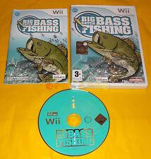 BIG BASS CATCH FISHING Nintendo Wii Versione Italiana 1ª Edizione ○○○ USATO - AI