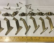 handrail bracket Brass Finish Lot Of 8