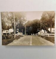 Antique Real Photo Postcard View of Main Street Caratunk Maine By Albert B Clark