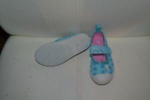 chaussure neuve reine des neiges 25 turquoise petit noeud dessus**
