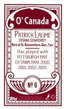 2003-04 Topps C55 Minis O Canada Red #6 Patrick Lalime