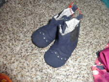 NWOT NEW KOALA BABY 0 NAVY BLUE BOOTS SHOES INFANT GIRLS