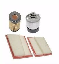 FOR MERCEDES S320 CDi 3.0TD W221 07-09 SERVICE PARTS KIT OIL AIR FUEL FILTER