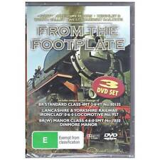 DVD FROM THE FOOTPLATE 3 DISCS RAILWAYS YORKSHIRE KEIGHLEY WORTH SOMERSET [BNS]