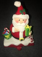 Santa Stocking Holder Hanger