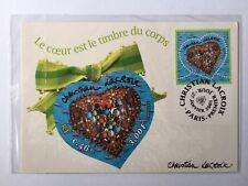 Carte postale PAP neuve C.Lacroix année 2001. TVP Monde. Sous blister + YT 3368