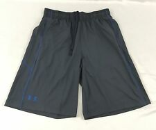 Under Armour MEN'S Athletic Shorts Loose Heat Gear Gray Blue 1291321 Size L