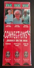 TLC The Learning Channel CONNECTIONS 3 Journey on the Web VHS Set NEW Free Ship